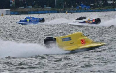 Rush of adrenaline at F1H2O race